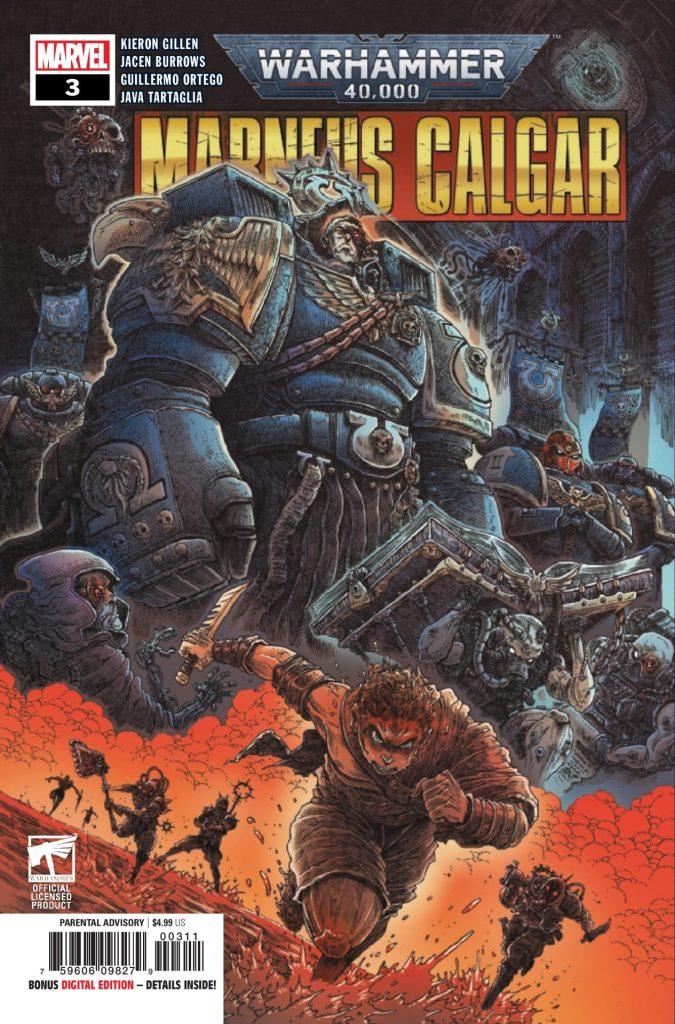Warhammer 40K: Marneus Calgar #3 (of 5)