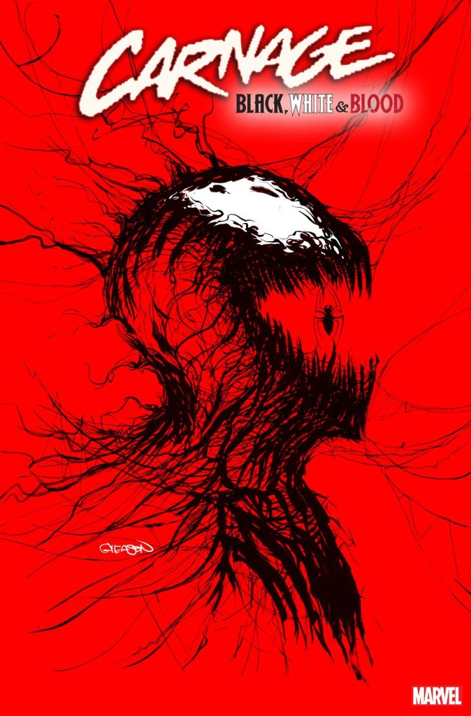 CARNAGE: BLACK, WHITE, AND BLOOD #1 Patrick Gleason cover
