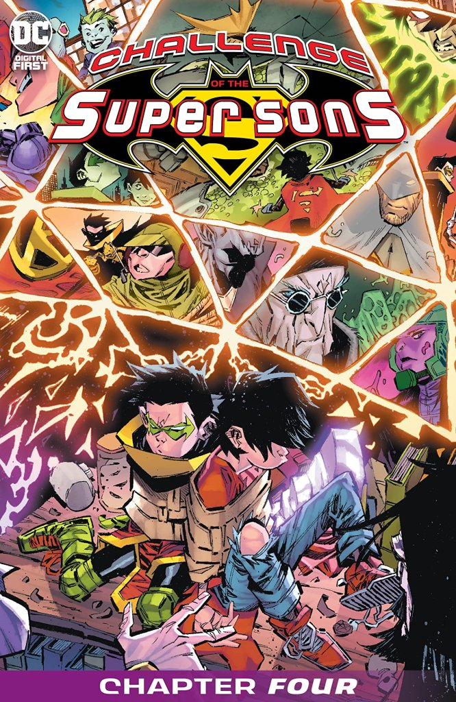 Challenge of the Super Sons (2020-) #4