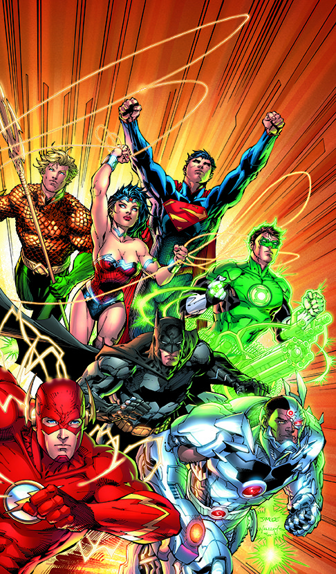 JUSTICE LEAGUE: THE NEW 52 OMNIBUS VOL. 1 HC