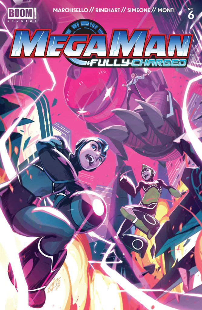 Mega Man: Fully Charged #6 (of 6)