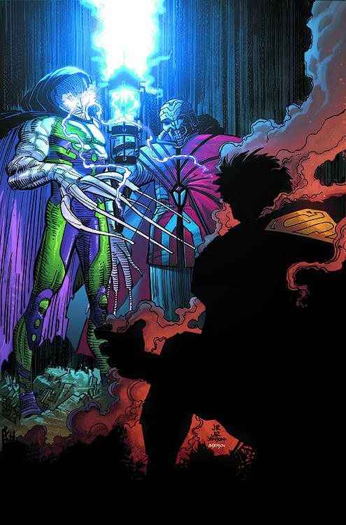 SUPERMAN: ACTION COMICS VOL. 4: METROPOLIS BURNING TP