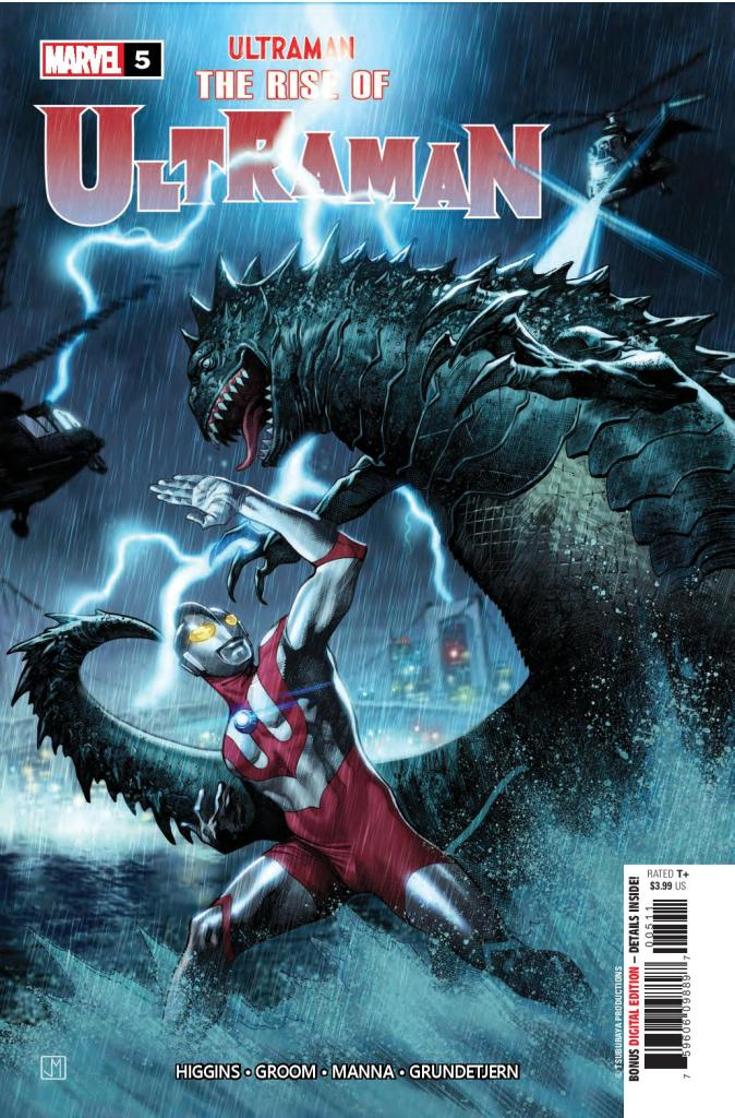 Rise of Ultraman #5 (of 5)