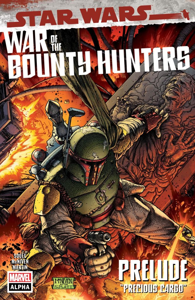 STAR WARS: WAR OF THE BOUNTY HUNTERS ALPHA #1