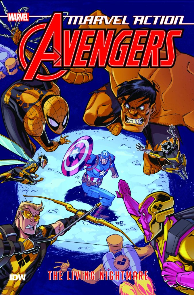 Marvel Action: Avengers Vol. 4 The Living Nightmare