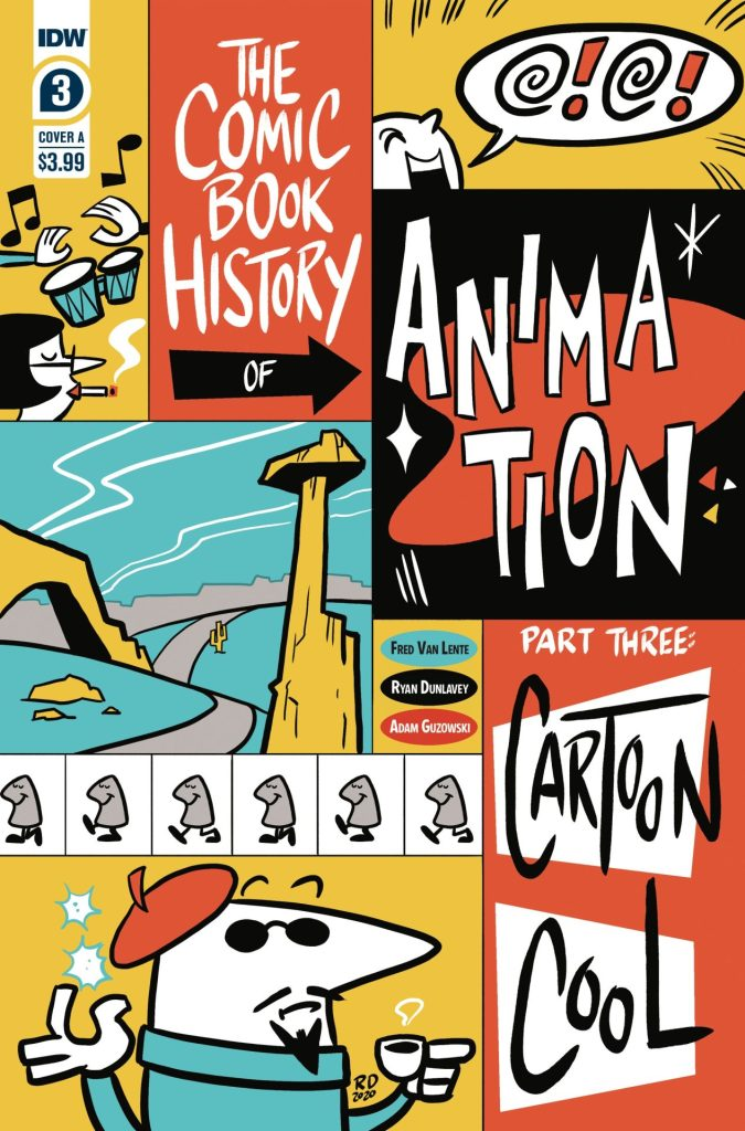The Comic Book History of Animation #3 (of 5)