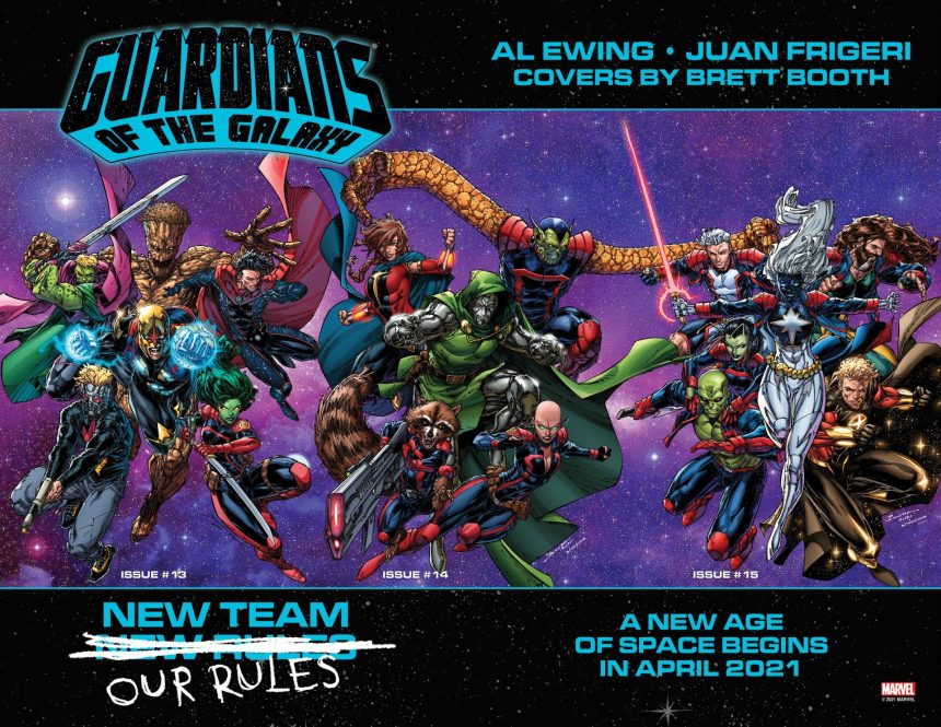 Guardians of the Galaxy #13-15