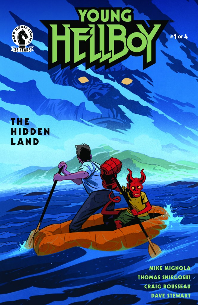 Young Hellboy: The Hidden Land #1 (of 4)