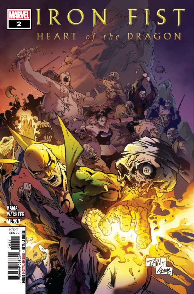 Iron Fist: Heart of the Dragon #2 (of 6)