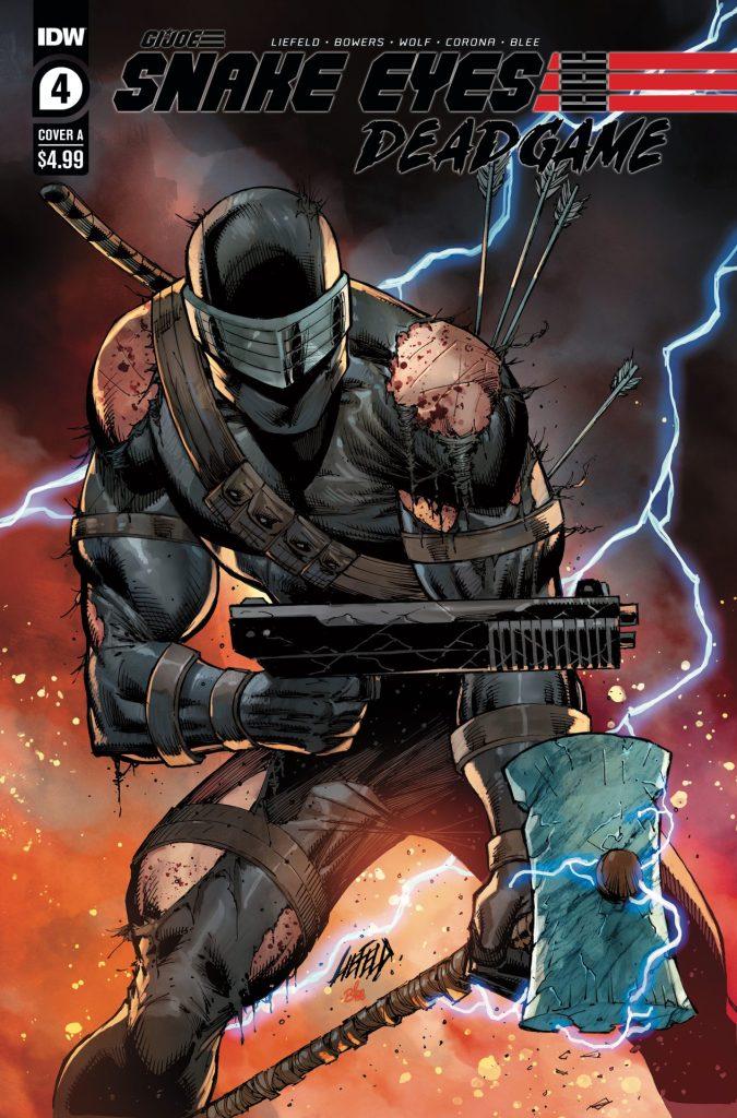 Snake Eyes: Deadgame #4 (of 5)