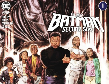 The Next Batman: Second Son #1