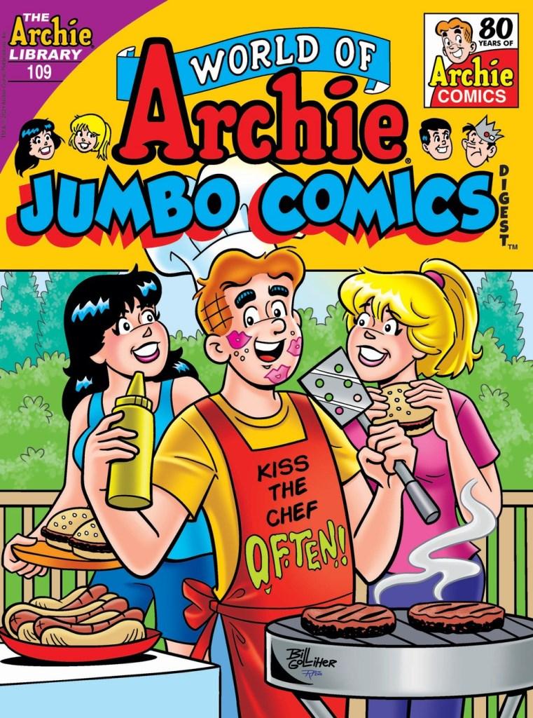 WORLD OF ARCHIE JUMBO COMICS DIGEST #109