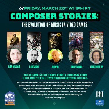 WonderCon 2021 Composers