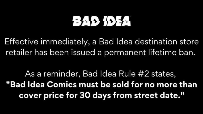 Bad Idea ban