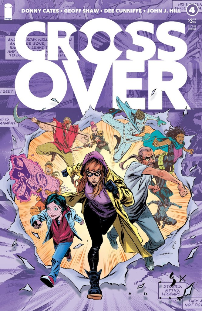 Crossover #4, second printing