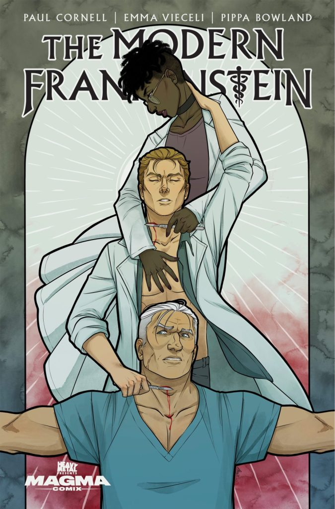 The Modern Frankenstein #3 (of 5) Kit Buss variant cover