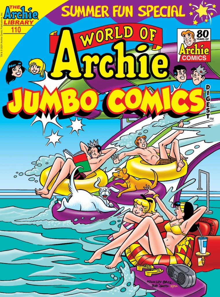 WORLD OF ARCHIE JUMBO COMICS DIGEST #110