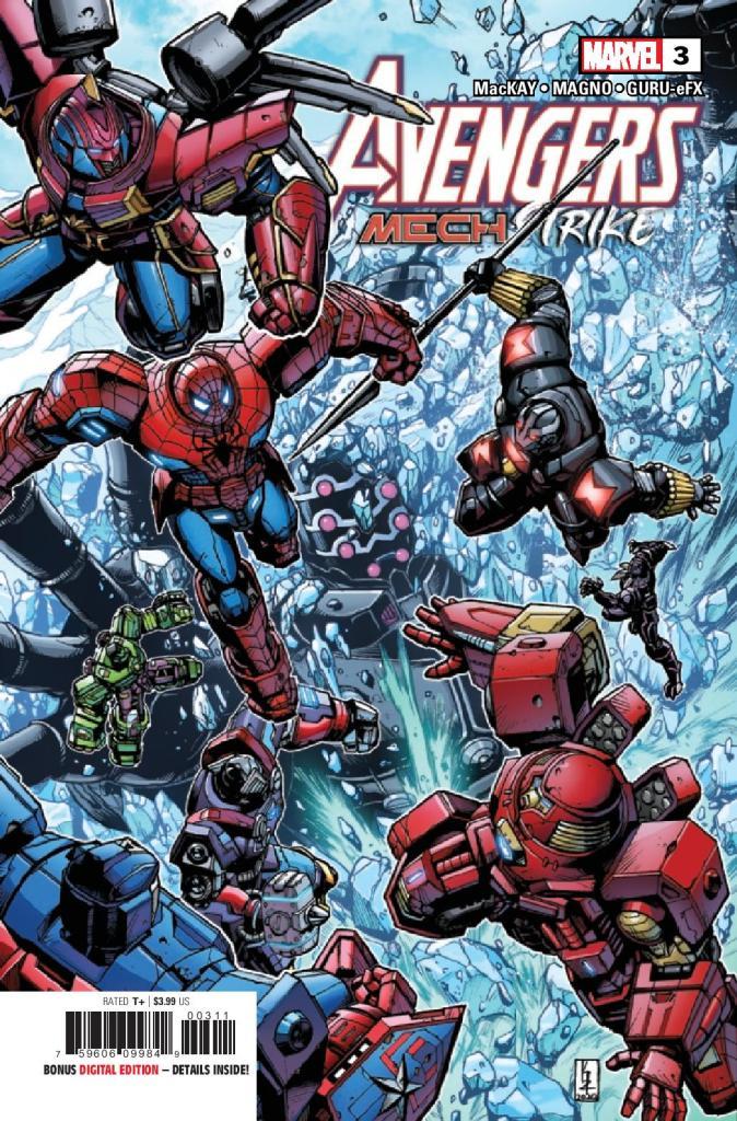 Avengers: Mech Strike #3 (of 5)