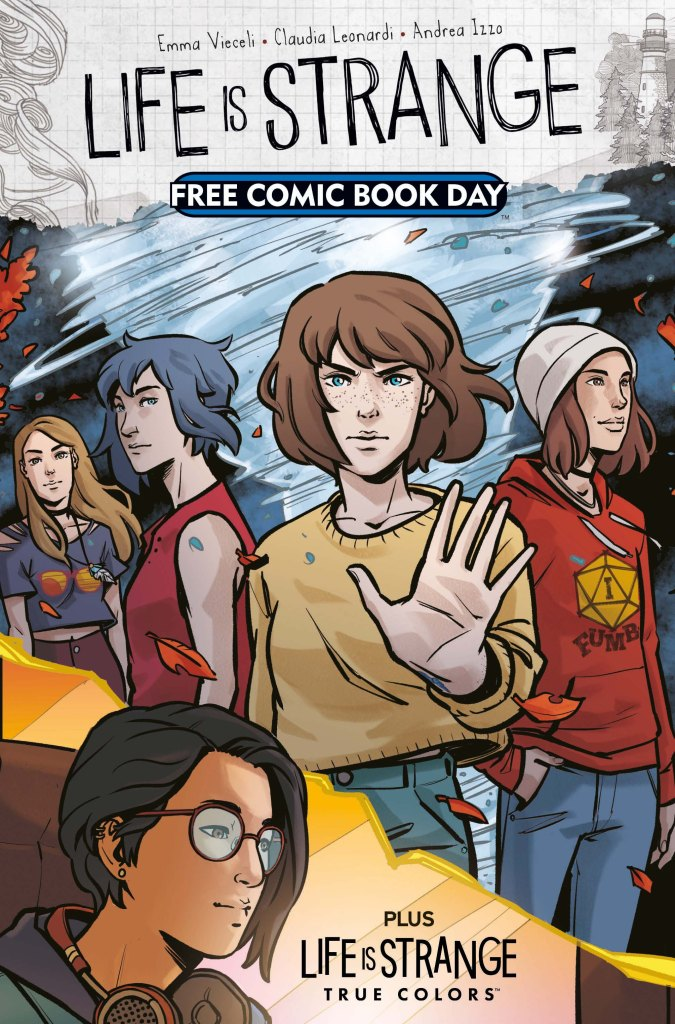 Life is Strange Free Comic Book Day Cover