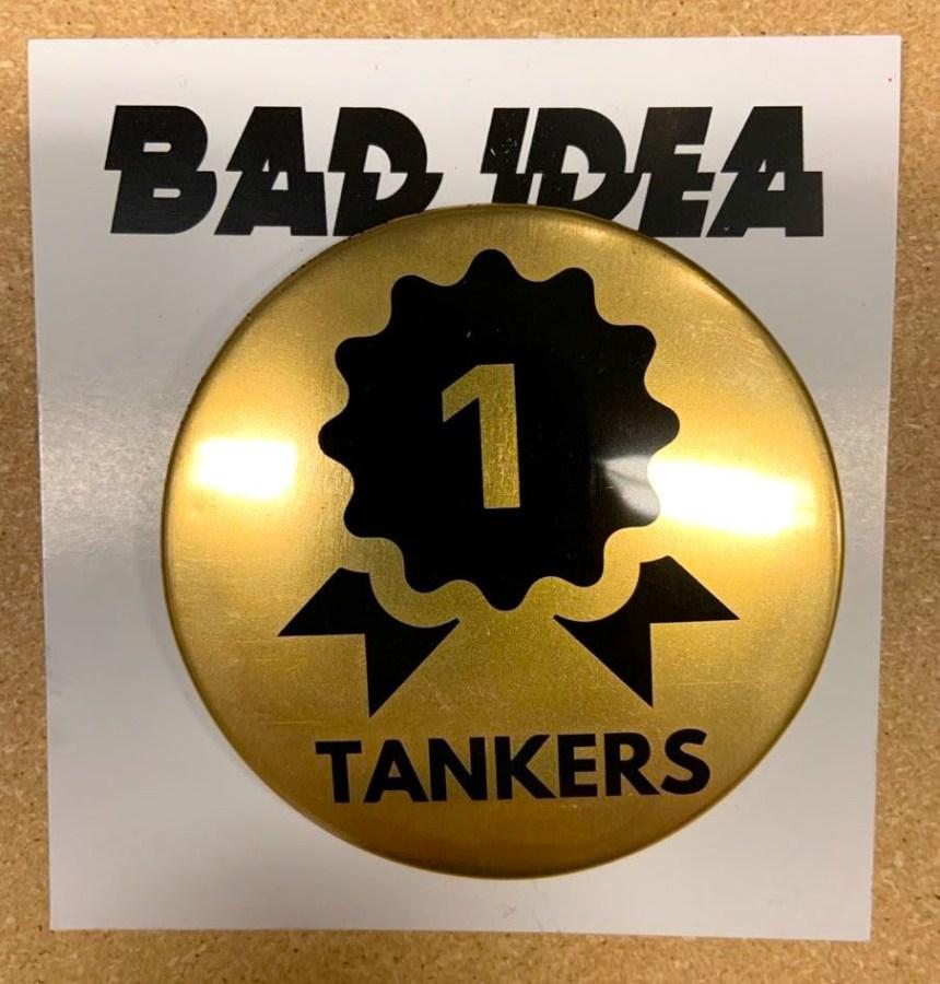 Tankers #1 pin