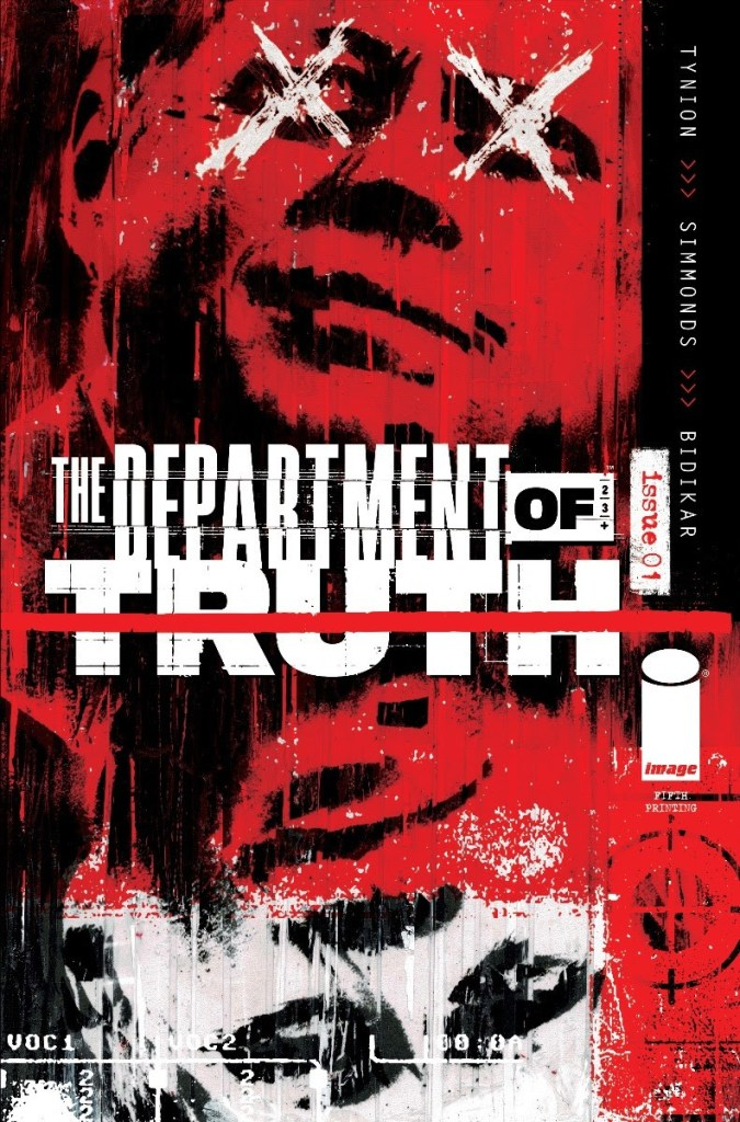 The Department of Truth #1, fifth printing