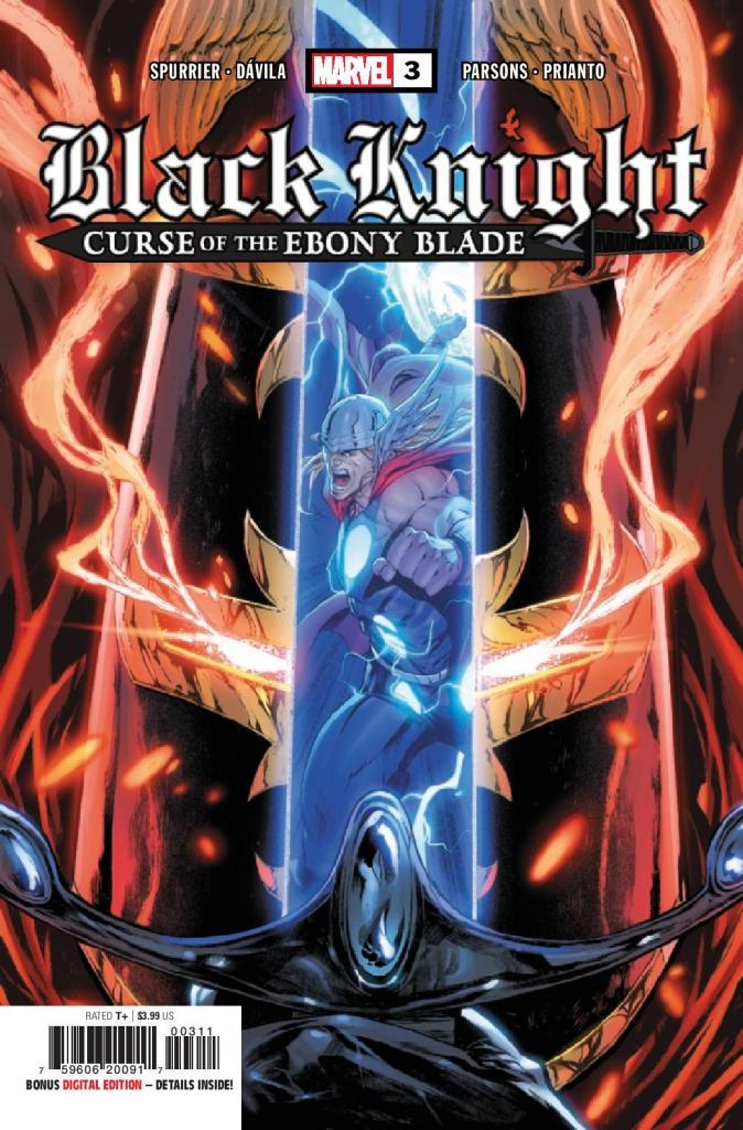 Black Knight: Curse of the Ebony Blade #3 (of 5)