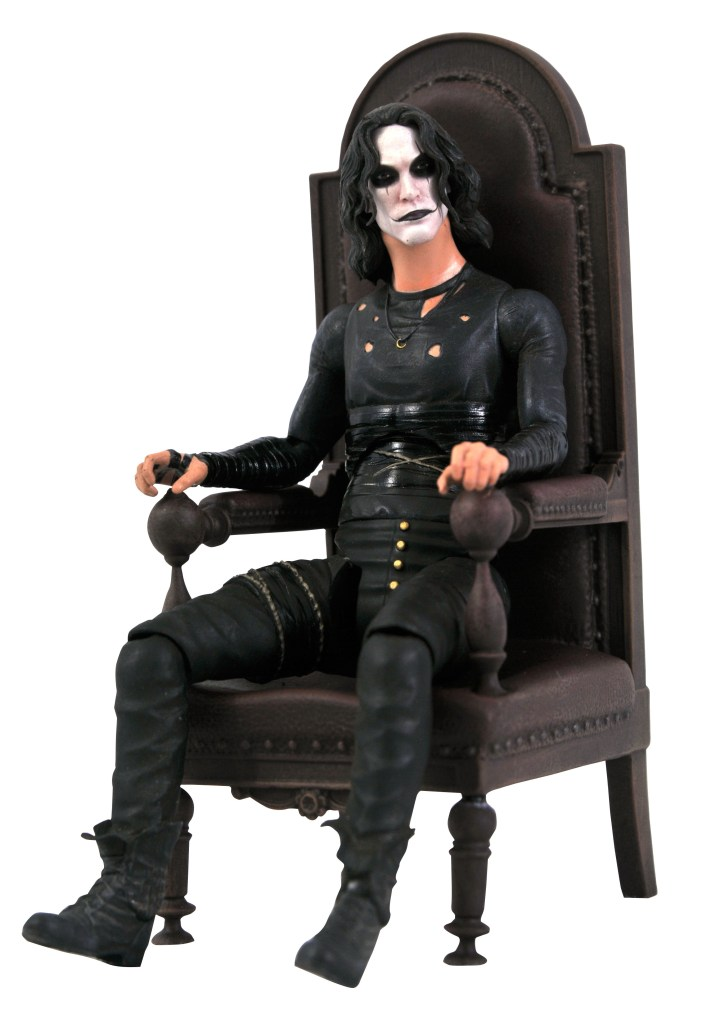 San Diego 2021 The Crow Eric Draven in Chair Action Figure Box Set