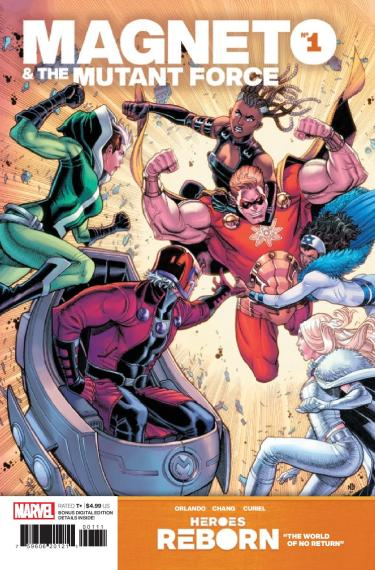Magneto and the Mutant Force #1