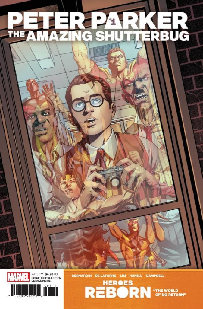 Heroes Reborn: Peter Parker: The Amazing Shutterbug #1