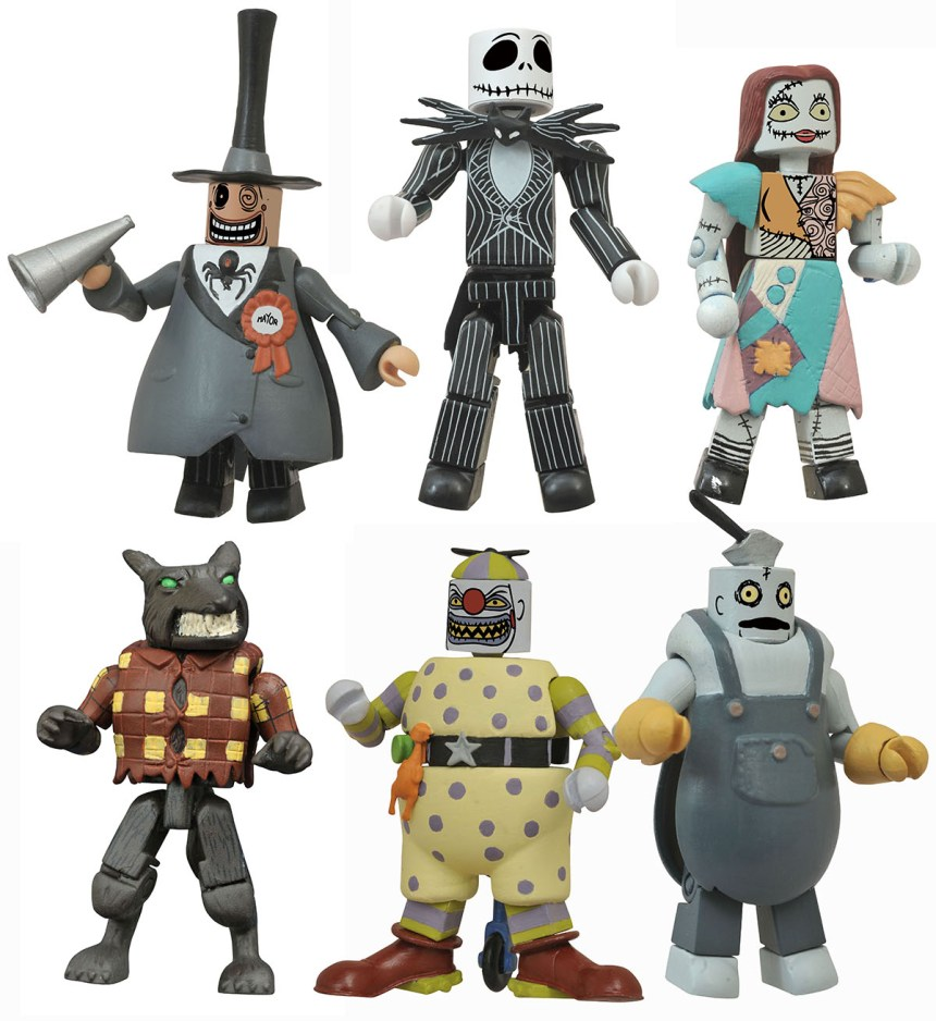 San Diego 2021 Nightmare Before Christmas Minimates Commemorative Gift Set