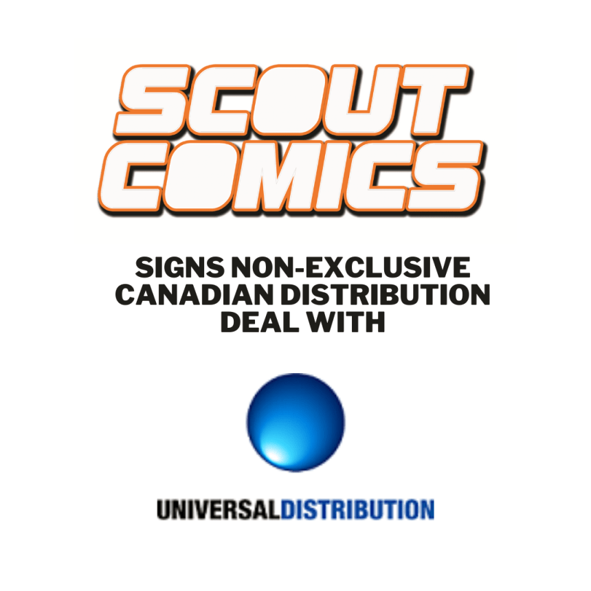 Scout Comics and Universal Distribution