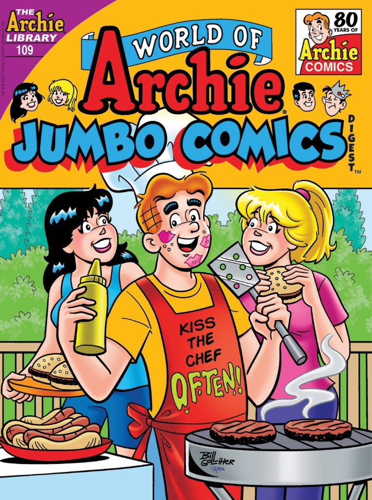 WORLD OF ARCHIE JUMBO COMICS DIGEST #109