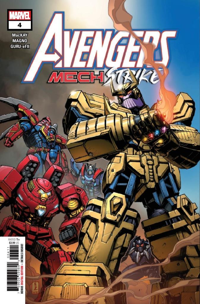 Avengers: Mech Strike #4 (of 5)