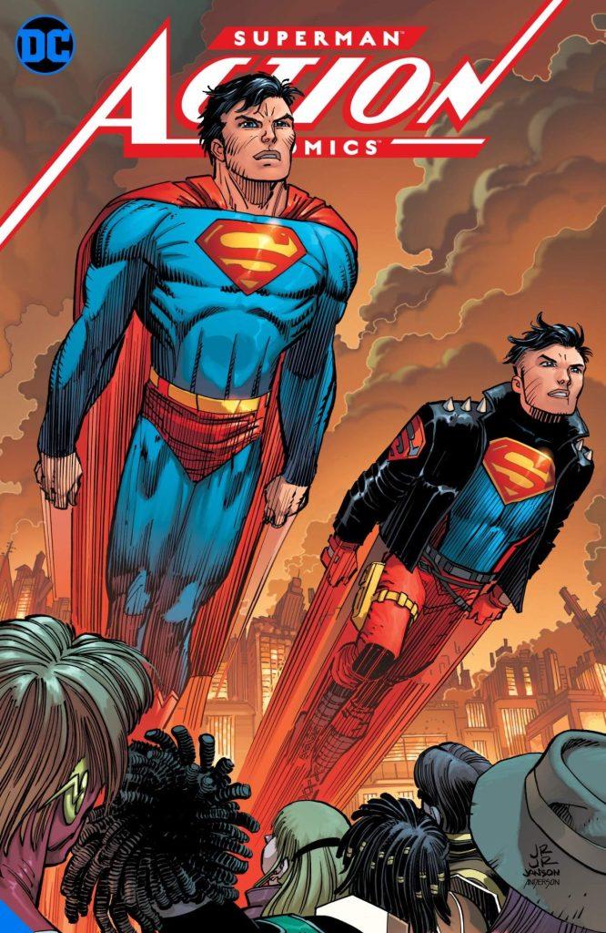 Action Comics Vol. 4: Metropolis Burning