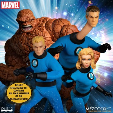 One:12 Collective Fantastic Four Boxed Set