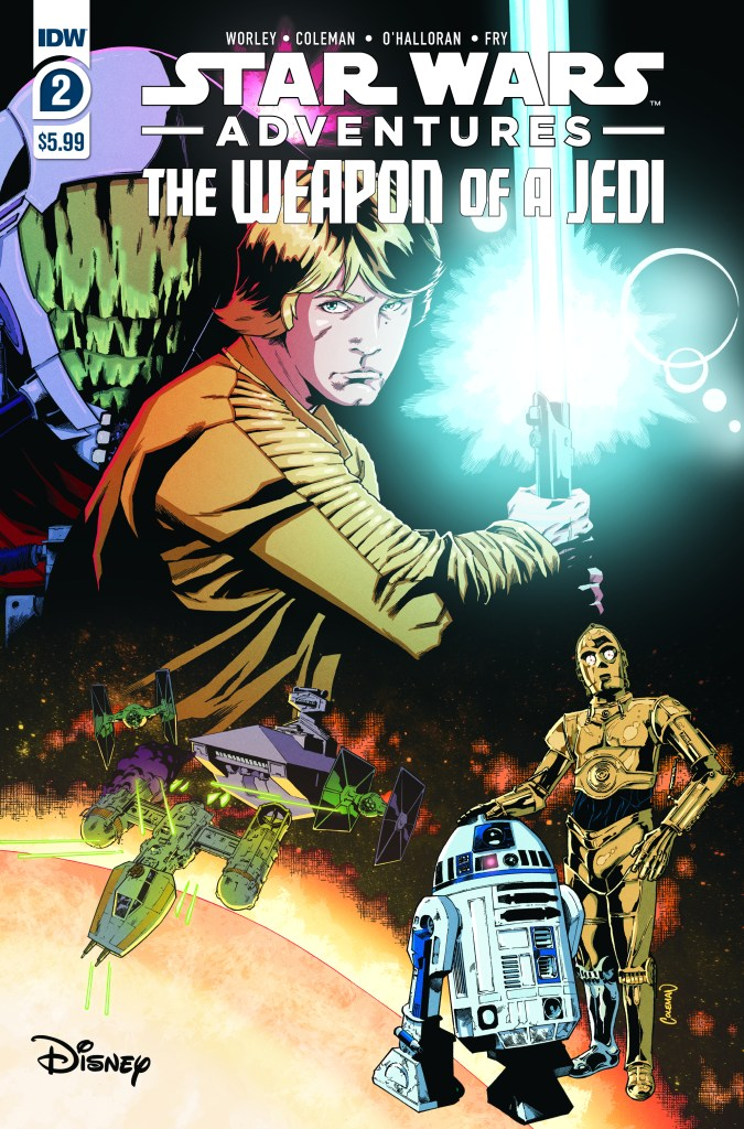 Star Wars Adventures: The Weapon of a Jedi #2 (of 2)