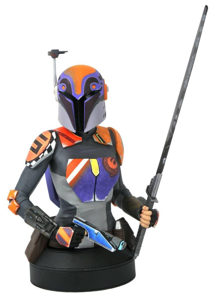 Star Wars Rebels Sabine Wren 1/6 Scale Mini-Bust