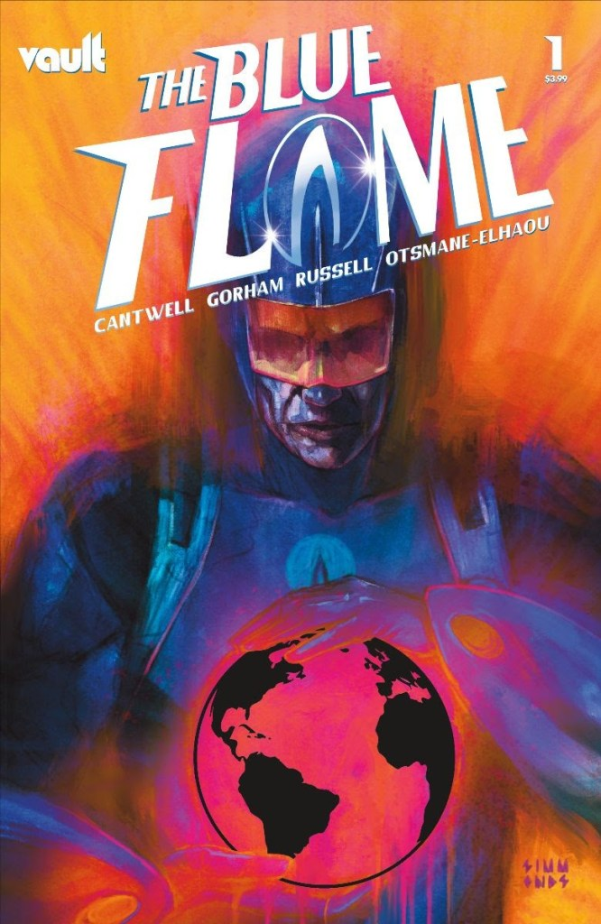 The Blue Flame #1 Glow-in-the-Dark variant