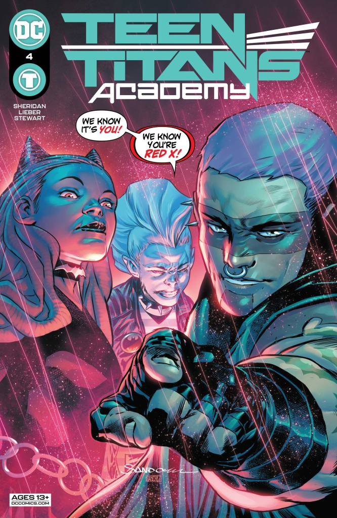 Teen Titans Academy #4