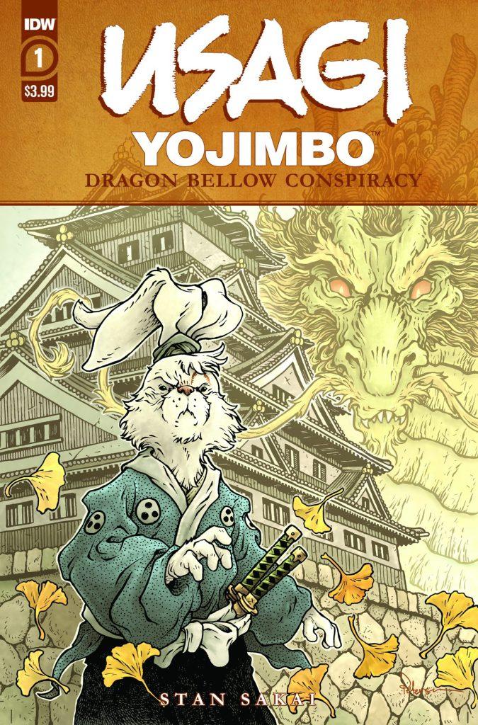 Usagi Yojimbo: Dragon Bellows Conspiracy #1 (of 6)