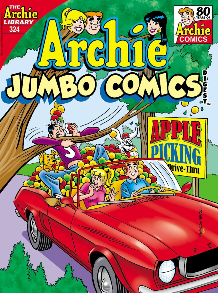 ARCHIE JUMBO COMICS DIGEST #324