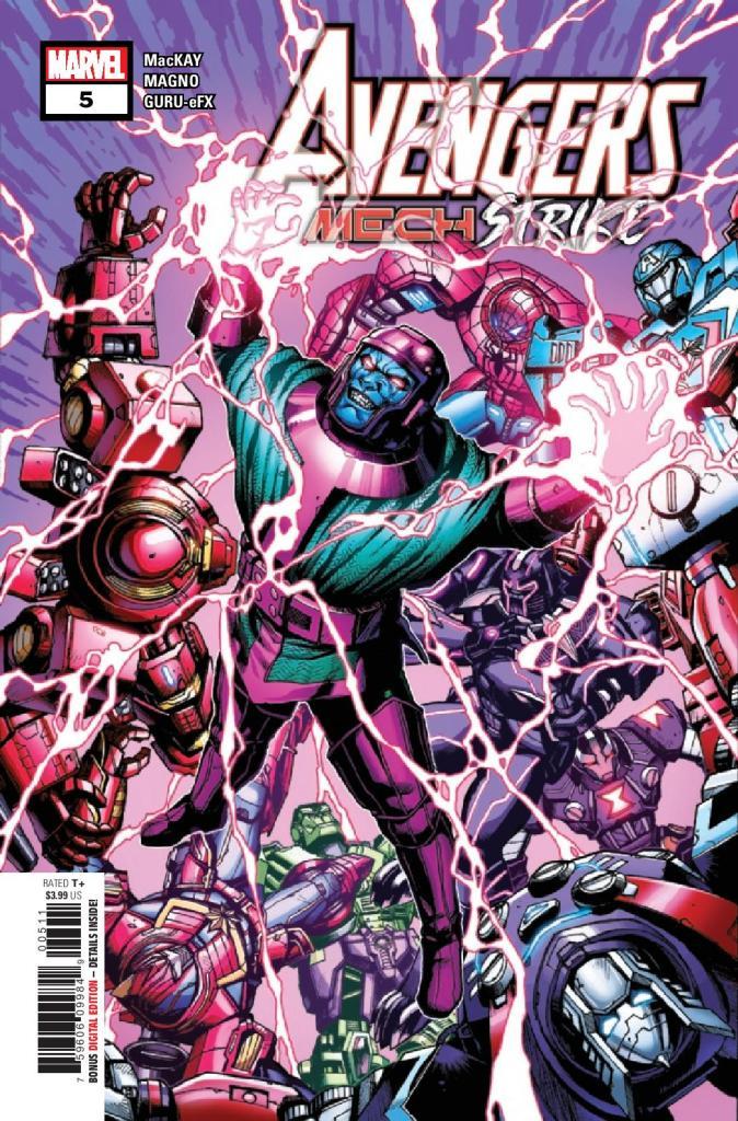 Avengers: Mech Strike #5 (of 5)