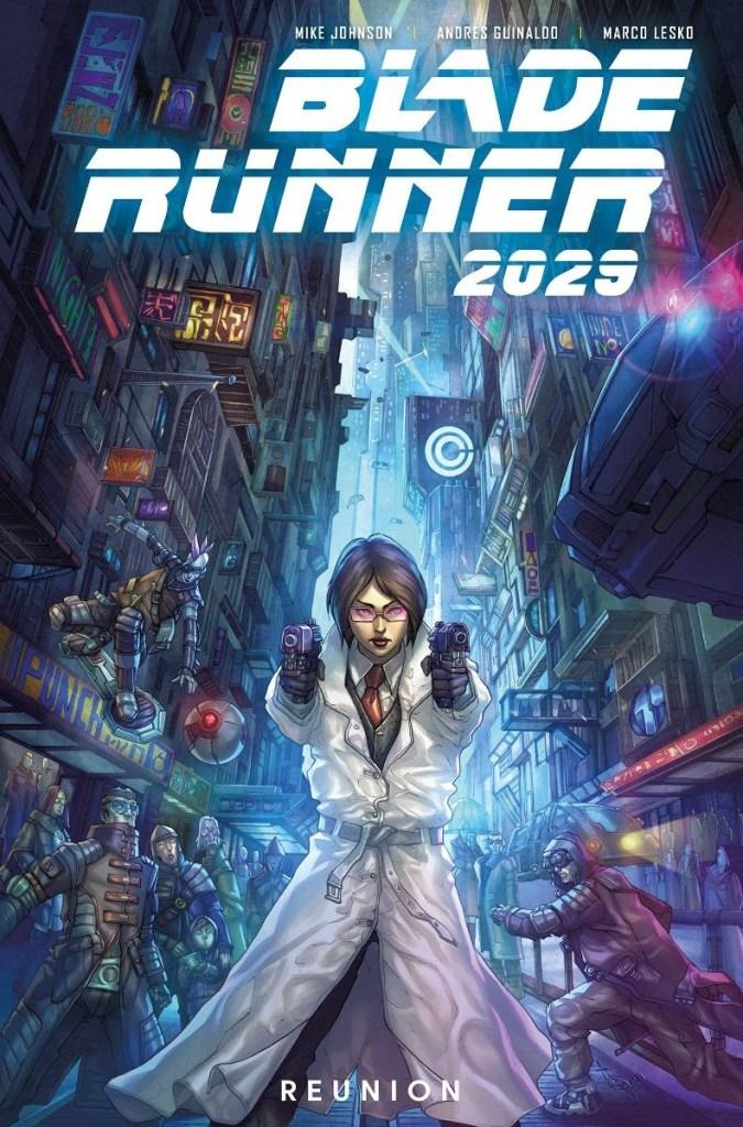 Blade Runner Comics Panel