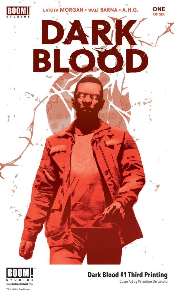 DARK BLOOD #1 THIRD PRINTING