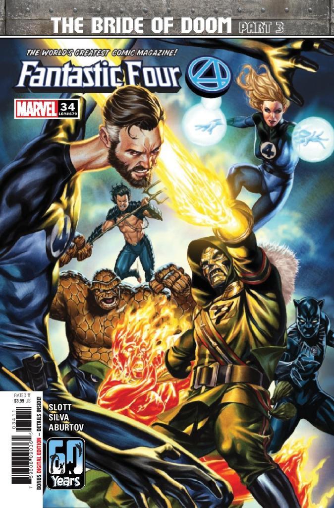 Fantastic Four #34