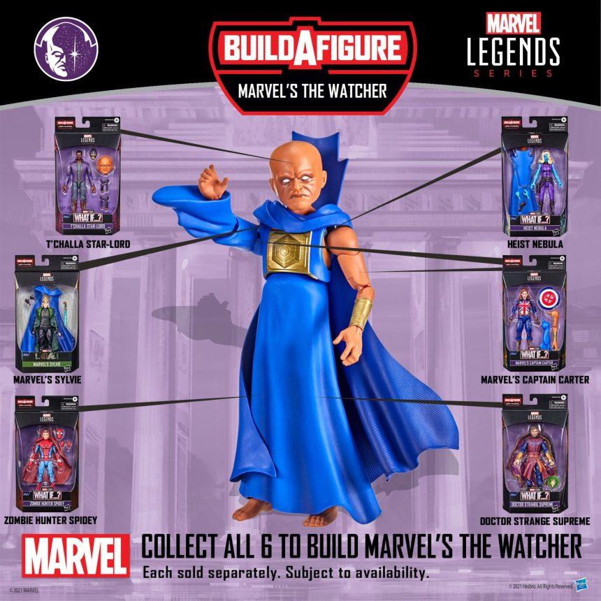 The Watcher build-a-figure