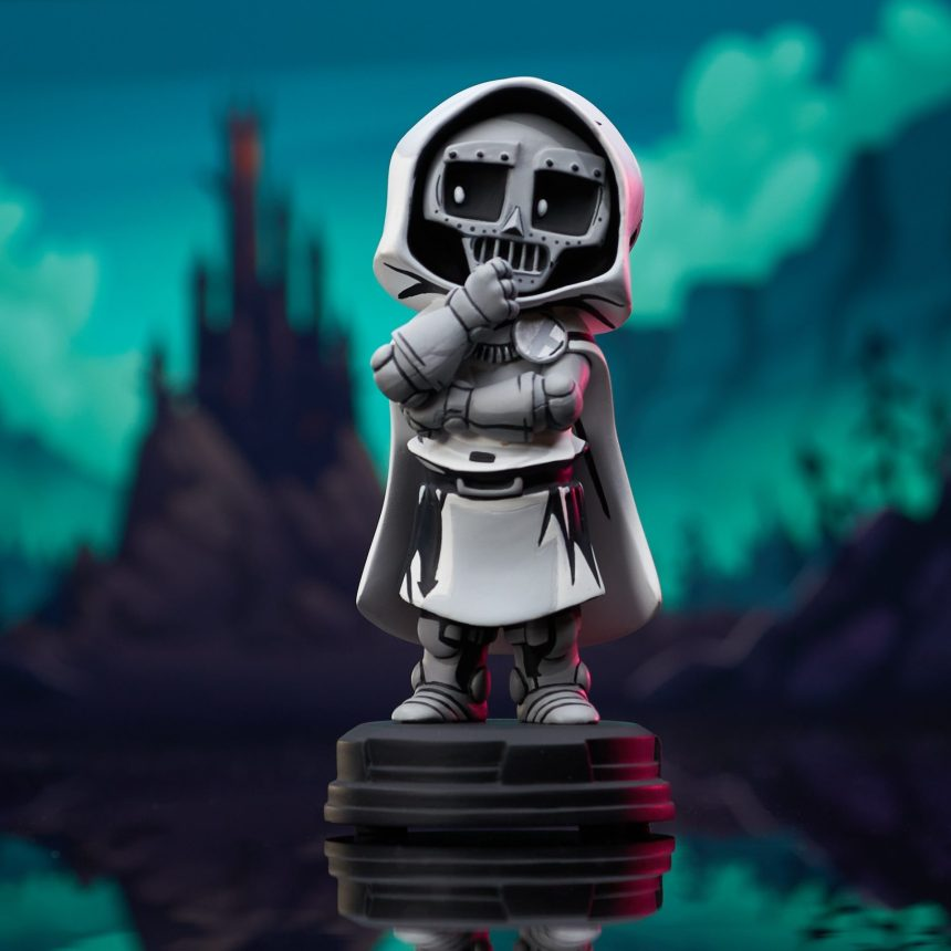 San Diego Exclusive Marvel Animated Style Doctor Doom (White Outfit) Statue