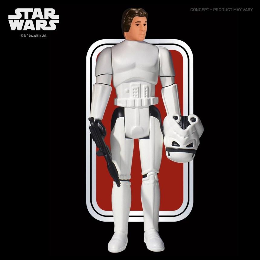 Star Wars: A New Hope Han Solo (Stormtrooper) Jumbo Action Figure