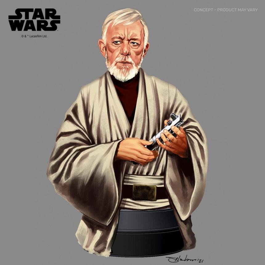 Star Wars: A New Hope Ben (Obi-Wan) Kenobi 1/6 Scale Mini-Bust