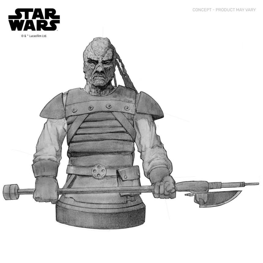 Star Wars: Return of the Jedi Pagetti Rook 1/6 Scale Mini-Bust